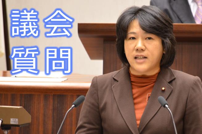 一般質問 ふるくぼ和子議員(12月15日)