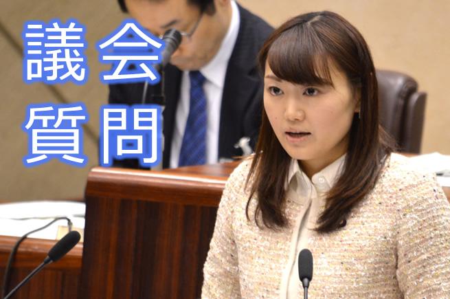 代表質疑 庄司あかり議員 (12月12日)