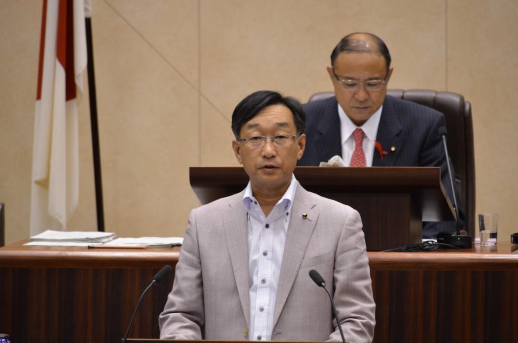 仙台市議会 日本共産党の一般質問(花木則彰)