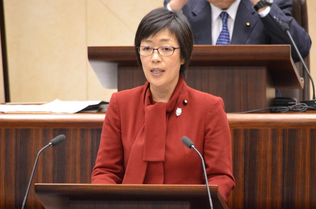 仙台市議会 代表質疑(すげの直子) 12月11日