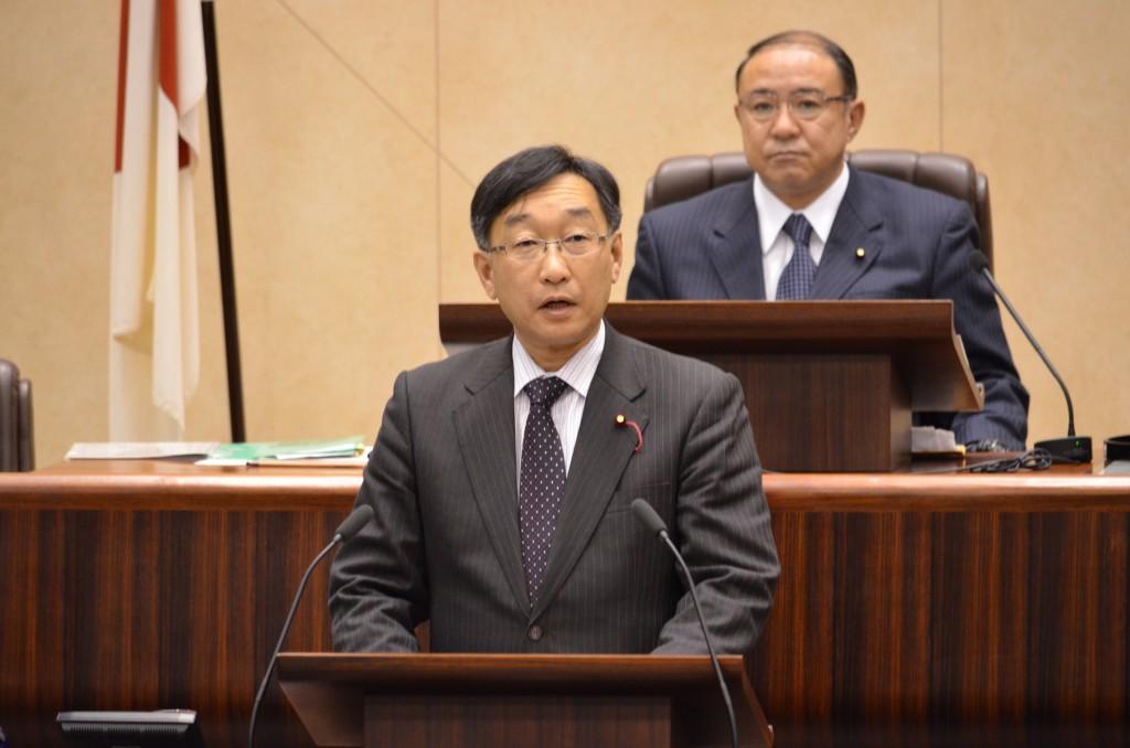 第1回定例会 日本共産党代表質疑