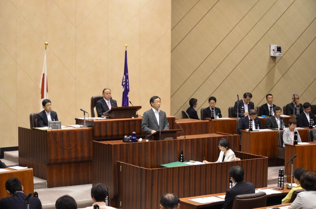 第2回定例会(最終日) 日本共産党の討論