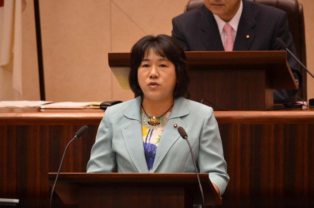 仙台市議会 日本共産党の代表質疑(ふるくぼ和子議員)=速報