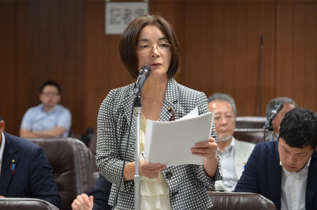 第3回定例会 決算委員会 津波被災者の生活再建支援金