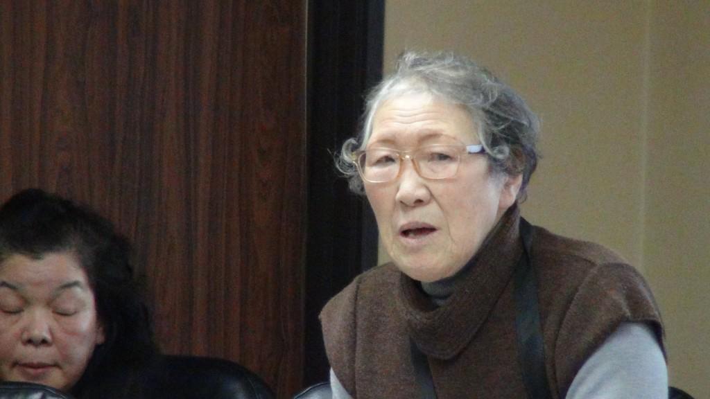 【動画】医療費免除措置の復活を要請 被災者たちが奥山市長に直談判 2017年1月23日