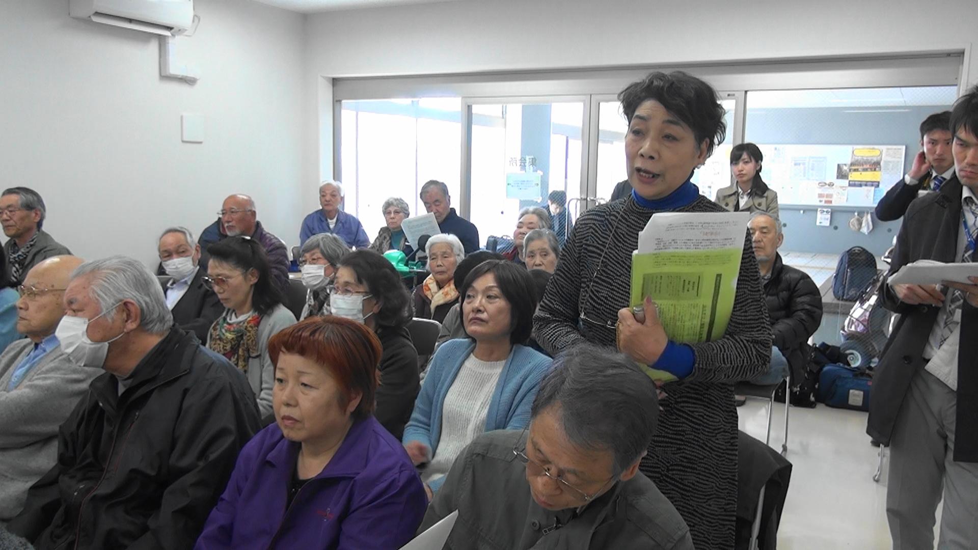 【動画】日照問題で仙台市と話し合い あすと長町復興住宅