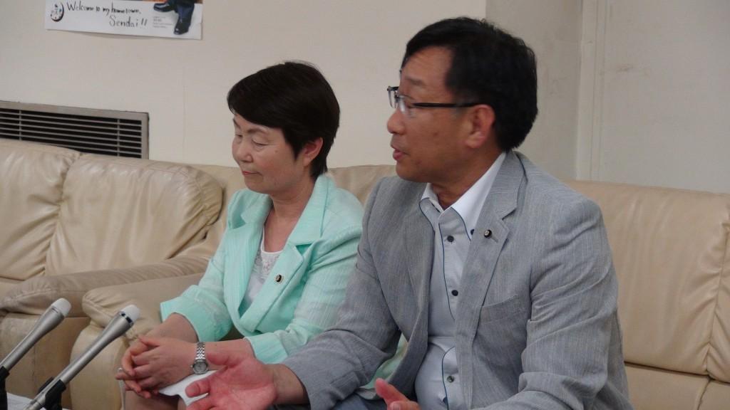 【動画】被災ビルの不自然な被害認定 共産党が記者会見
