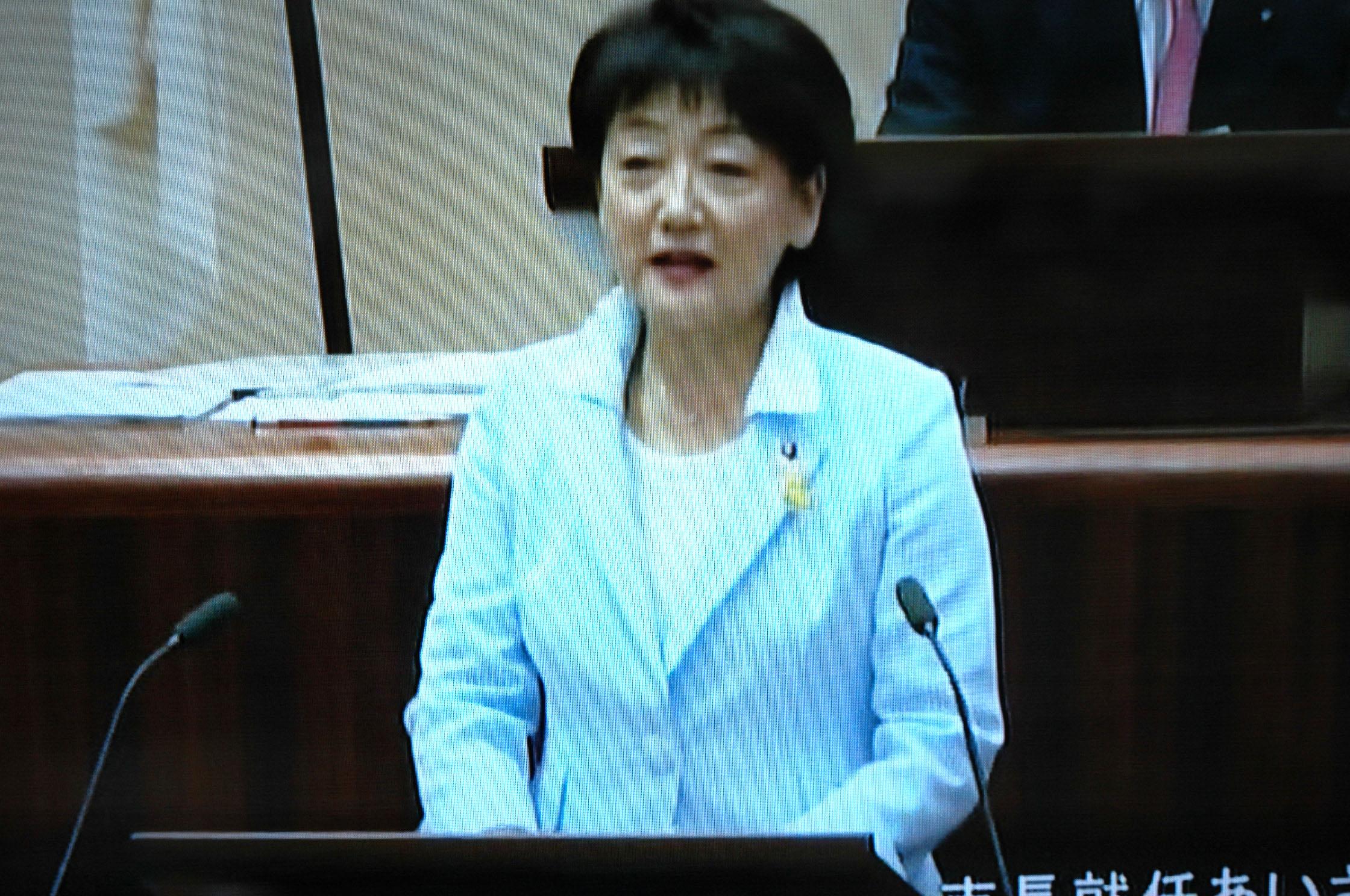 【動画】郡和子市長の就任あいさつ 仙台市議会