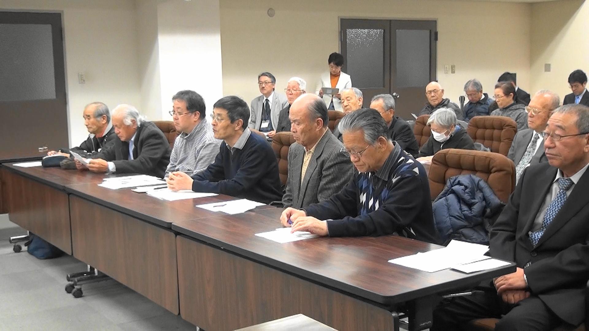 【動画】復興住宅の家賃値上げ 自治会長らが郡市長に据え置き要請