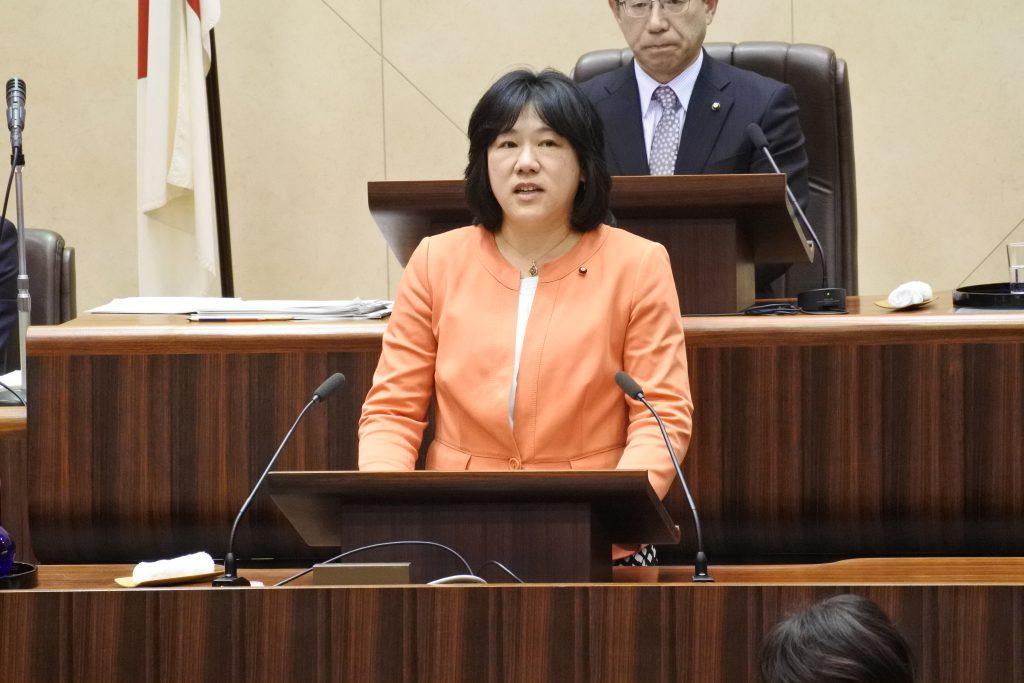 第1回定例会 郡市長の予算に賛成 ふるくぼ和子議員の討論