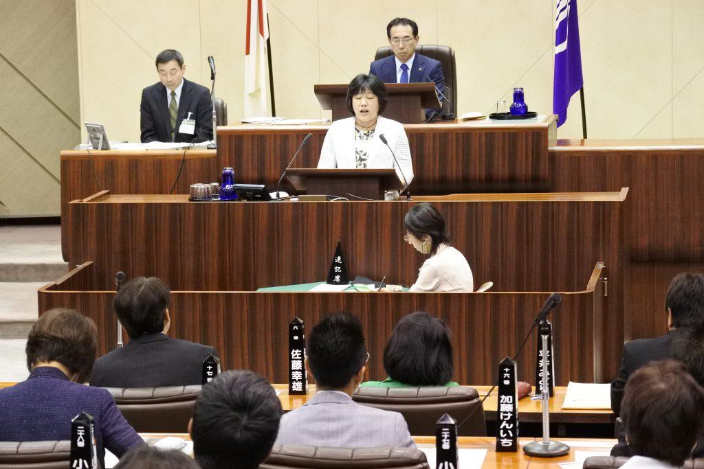 【動画】花木議員への懲罰動議 ふるくぼ和子議員の反対討論