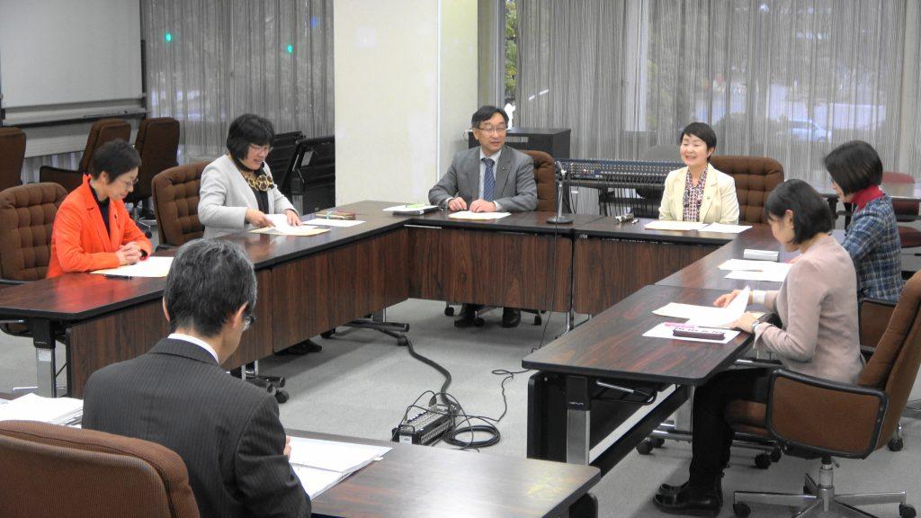 【動画】予算要望への回答 仙台市が党市議団に