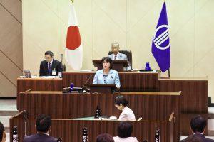 水道民営化に反対 ふるくぼ和子議員の代表質疑から(続報)