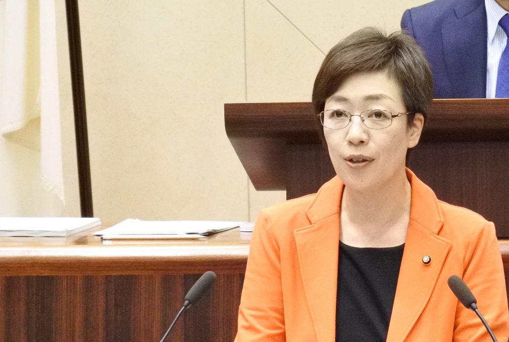 一般質問 すげの直子議員 (10月1日)
