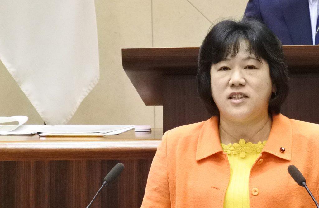 代表質疑 ふるくぼ和子議員 (9月27日)