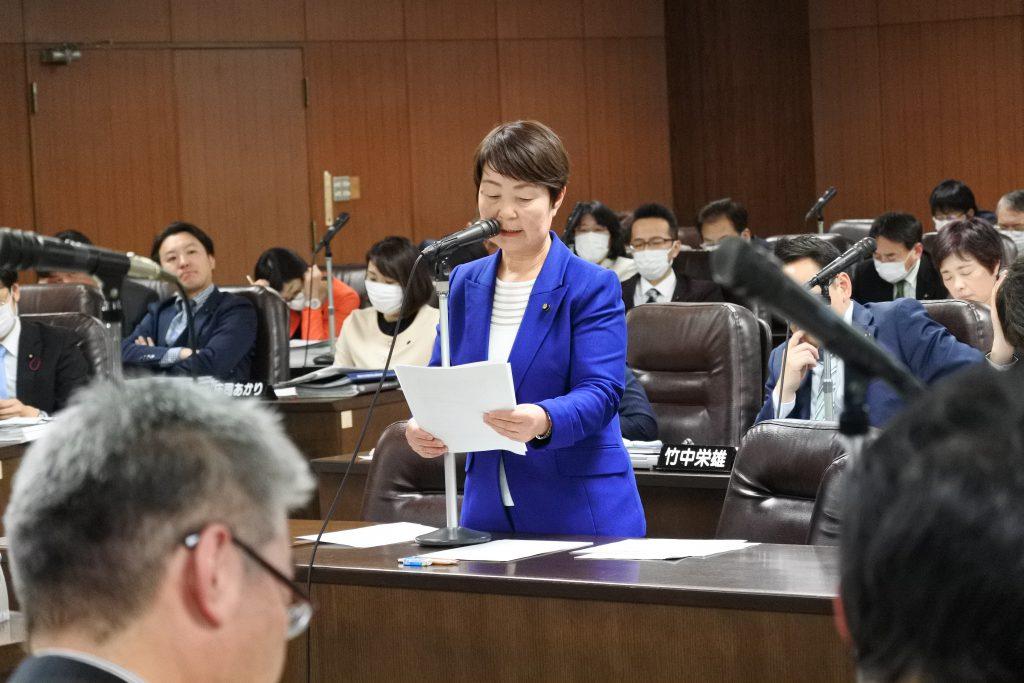 【動画】新型コロナが経済を直撃 嵯峨サダ子・予算委員会