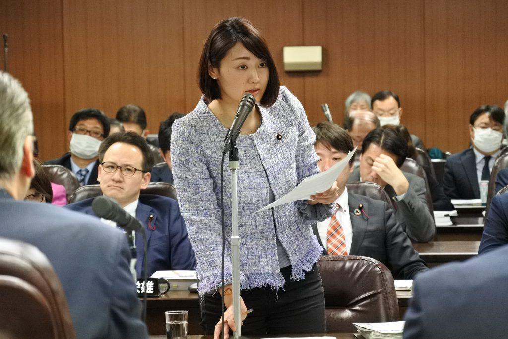 【動画】台風19号「一部損壊」へ支援を 庄司あかり・予算委員会から
