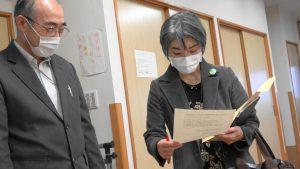 【動画】コロナ支援と3病院統合中止を 郡市長に緊急要請 党市議団